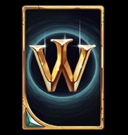 Arcane Reel Chaos Slot Machine: simbolo Wild