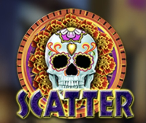 Calaveras Slot Machine: simbolo Wild