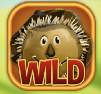 Chicken Hatch Slot Machine: simbolo Wild