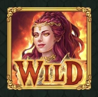 Dragon Maiden Slot Machine: simbolo Wild