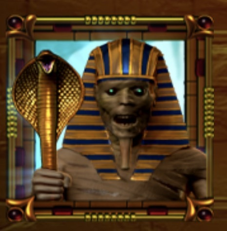 Horus Gold Slot Machine: simbolo Wild