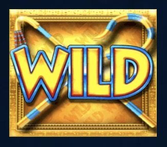 Legend Of The Pharaohs Slot Machine: simbolo Wild