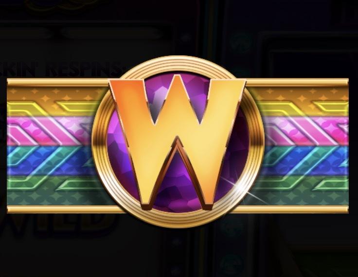 Lucky Stripes Slot Machine: simbolo Wild