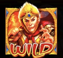 Monkey Warrior Slot Machine: simbolo Wild