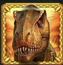 Raging Rex Slot Machine: simbolo Wild