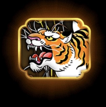 Tiger Rush Slot Machine: simbolo Wild
