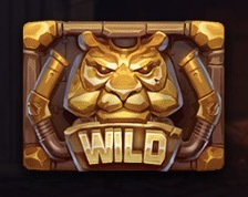 Time Travel Tigers Slot Machine: simbolo Wild