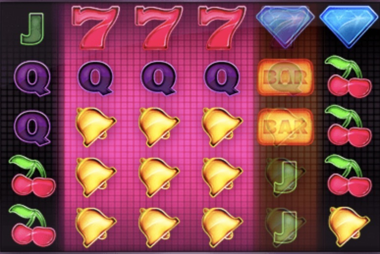 Twin Spin Deluxe Slot Machine: simbolo Wild