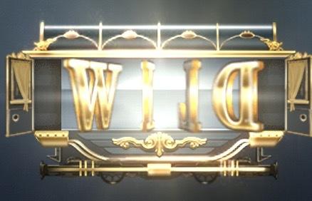 Wild Rails Slot Machine: simbolo Wild