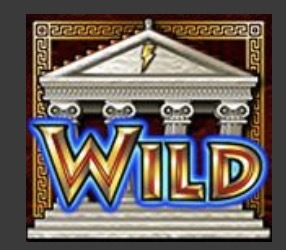 Zeus Slot Machine: simbolo Wild